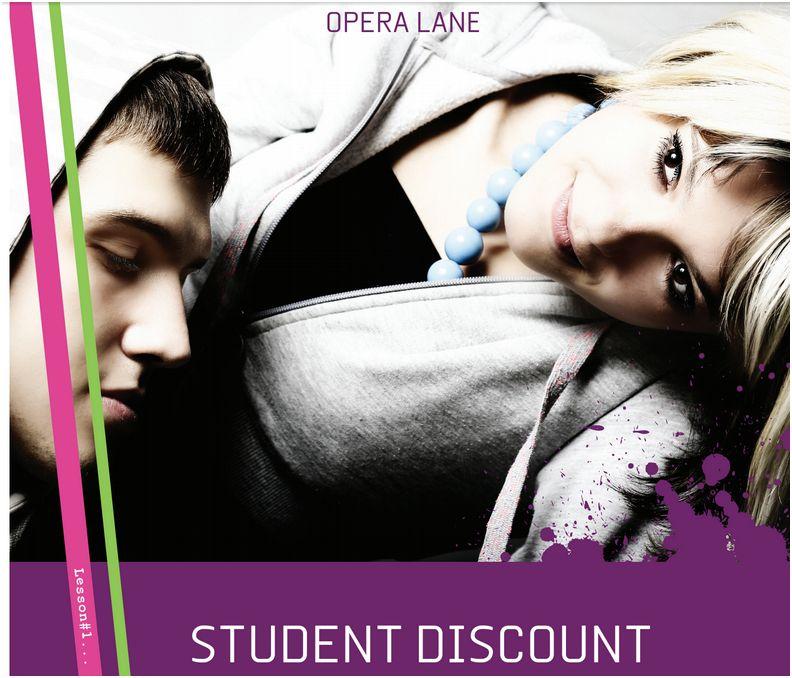 Student Discount-Maeve Ad-Motley